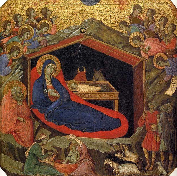 Medieval nativity scene   Virtual Disney - Brave   Renaissance art, Art, Nativity