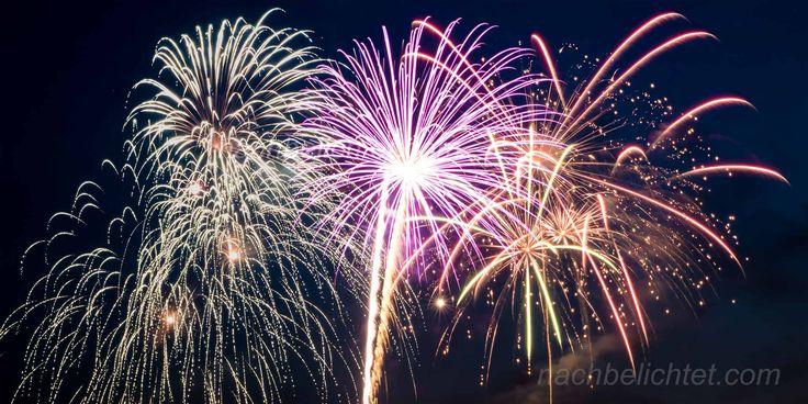 (Silvester) Feuerwerk richtig fotografieren – Tipps und Tricks – nachbelichtet – fotografie, video, audio, recording