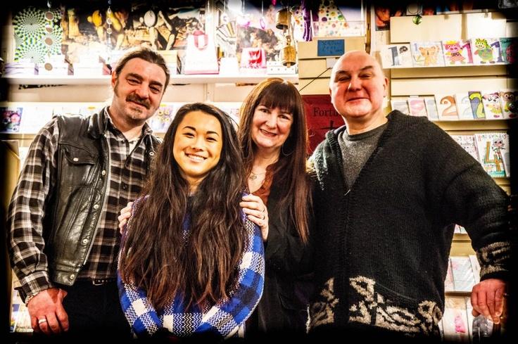 The Saturday gang at Guru… (Col, Kayeung, Beryl, Tony)! :-)