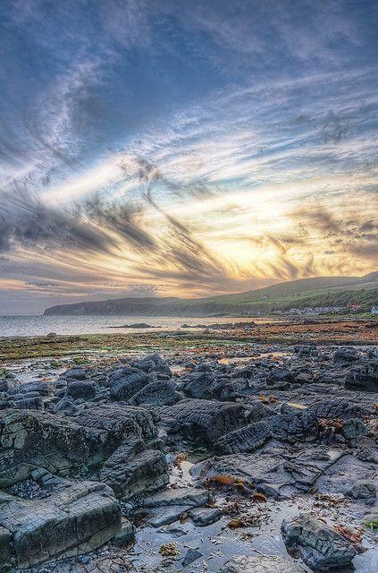 Kildonan beach, Scotland