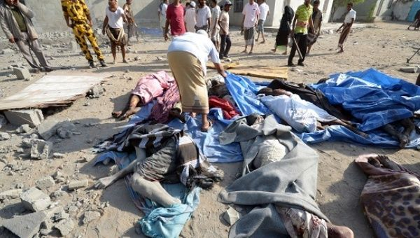 """The Shame of Killing Innocent People On April 26th, 2017, in Yemen's port city of Hodeidah, the Saudi-led coalition which has been waging war in Yemen for the past two years dropped leaflets informing Hodeidah's residents of an impending attack. One leaflet read: """"Our forces of legitimacy are heading to liberate Hodeidah and end the suffering of our gracious Yemeni people. Join your legitimate government in favor of the free and happy Yemen.""""And another:"""