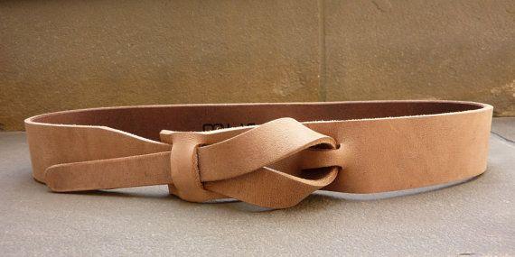 Safari Outback Taupe Ledergürtel von Muse 1,5 Zoll Nickel - frei/Gemüse gegerbtes Leder
