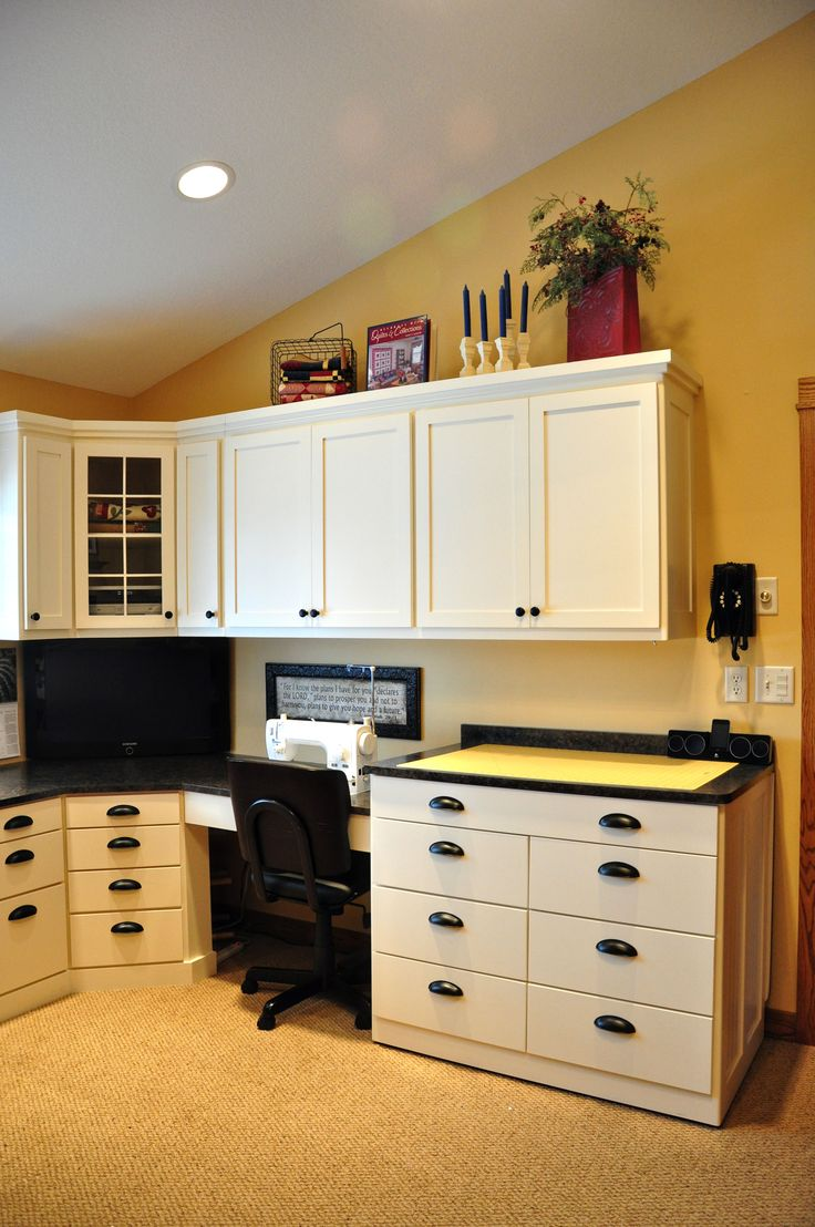 Craft room cabinets idea - Sewing Room Cabinet Ideas