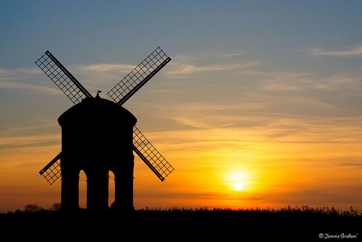 Chesterton Windmill, Sunrise
