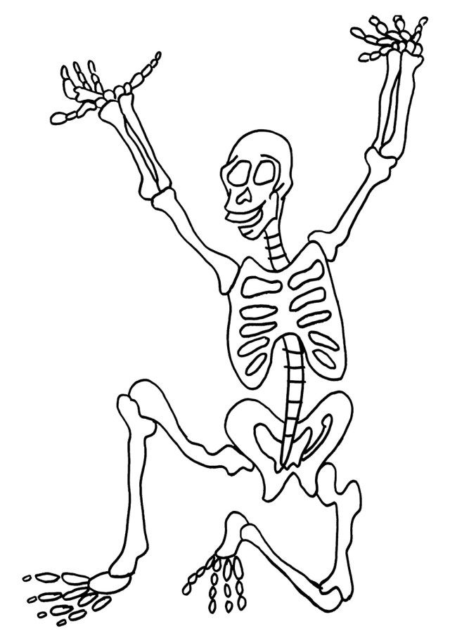 30 Inspiration Picture Of Skeleton Coloring Pages Albanysinsanity Com Cartoon Coloring Pages Coloring Pages Halloween Coloring Pages