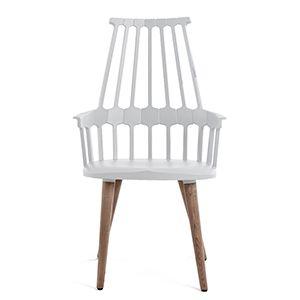 CASANOVA Møbler — KARTELL - Comeback Spisebordsstol - hvid