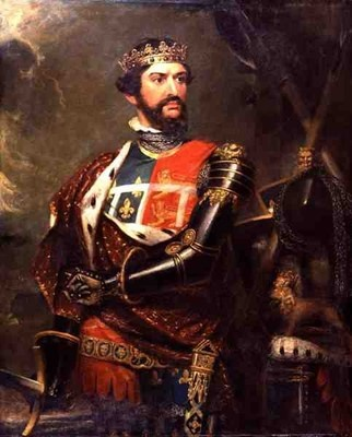 "EDWARD ""THE BLACK PRINCE"" Plantagenet of Wales 1330-1376. He became the first Knight of the Garter. Edward was raised with his cousin Joan. He gained papal permission and absolution for this marriage to a blood-relative.  23rd Great Grand Father"