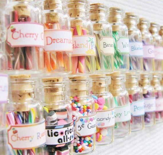 Casa de muñecas miniatura dulces alimentos y por starfirewire