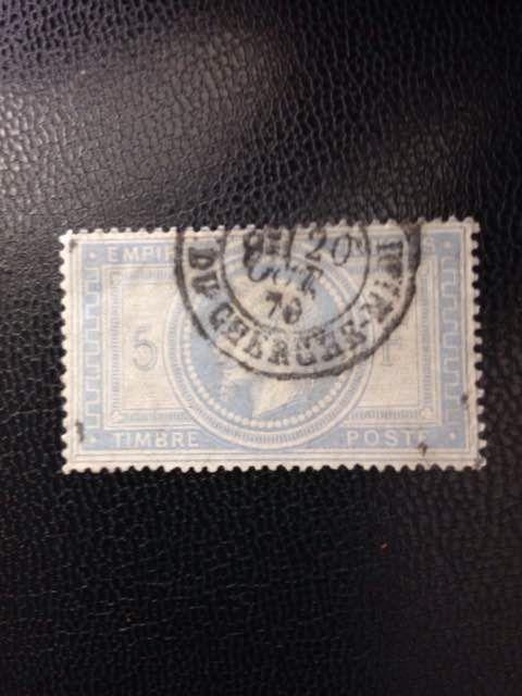 Frankrijk 1869 - Napoleon III Franse Keizerrijk - Yvert nr. 33  EUR 85.00  Meer informatie