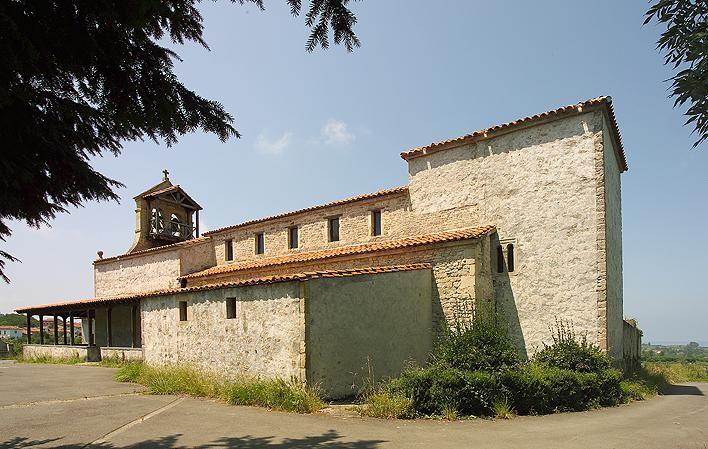 Prerrománico :: Iglesia de Santiago de Gobiendes