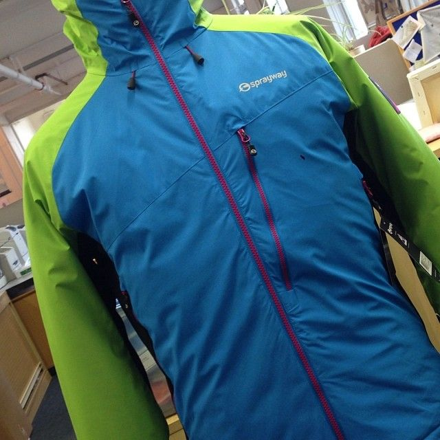 Special edition Grendal jacket. Insulated WINDSTOPPER(R) #40th #BackToTheMountain #Sprayway