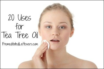 20 ways you can use tea tree oil
