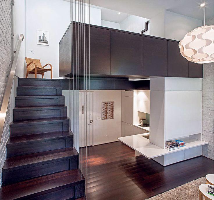 Mini appartamenti e micro case innovative Disegno loft