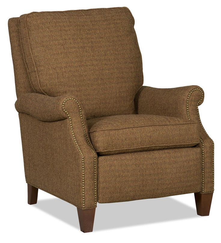 Choates--Sam Moore Brendan Transitional Reclining Chair with Nailhead Trim - AHFA - Three Way Recliner Dealer Locator