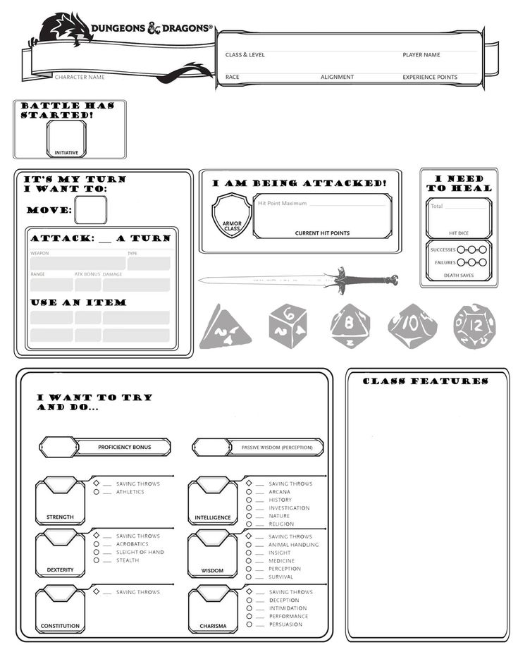 Super Beginner Friendly Sheet Broken Down By What The Player Is Trying To Do Character Sheet Template Dnd Character Sheet Character Sheet