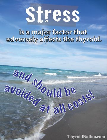 Breathe, Relax and try to de-stress. It isn't good for your health. www.ThyroidNation.com  Thyroid, Health, Support, Hypothyroidism