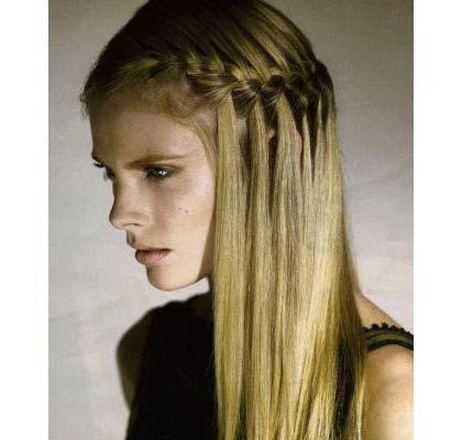 semirecogidos pelo liso trenzas buscar con google peinados pinterest bsqueda