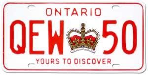 #21 Ontario license plates 06-21-12