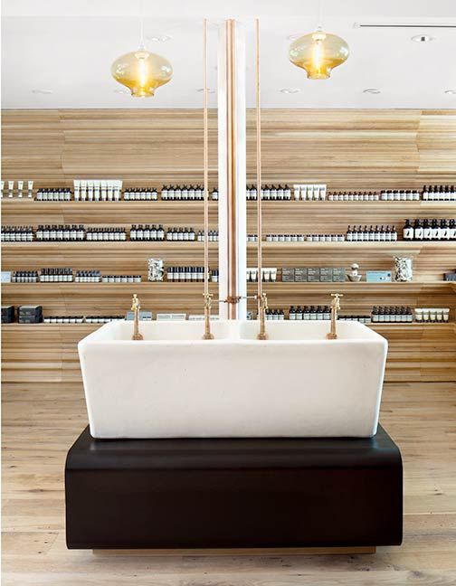 Aesop Boston Salon Interior DesignInterior ShopBeauty