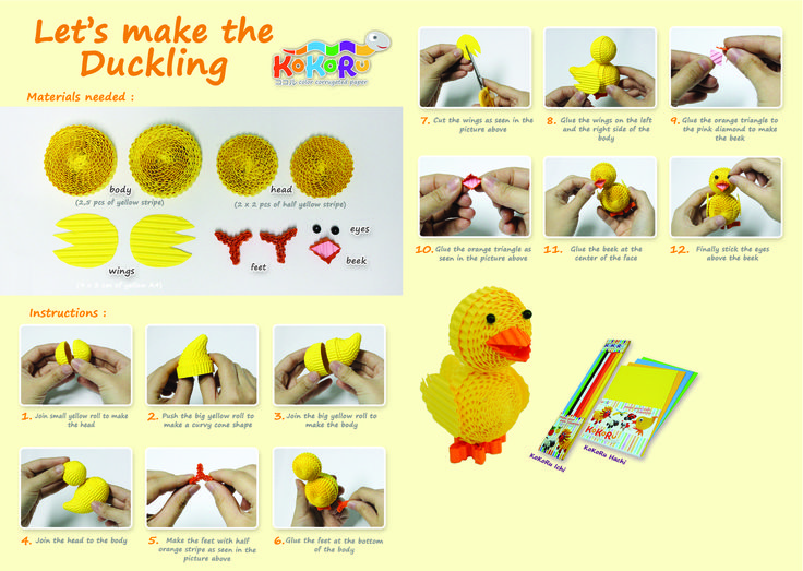 how to make duckling #kokoru