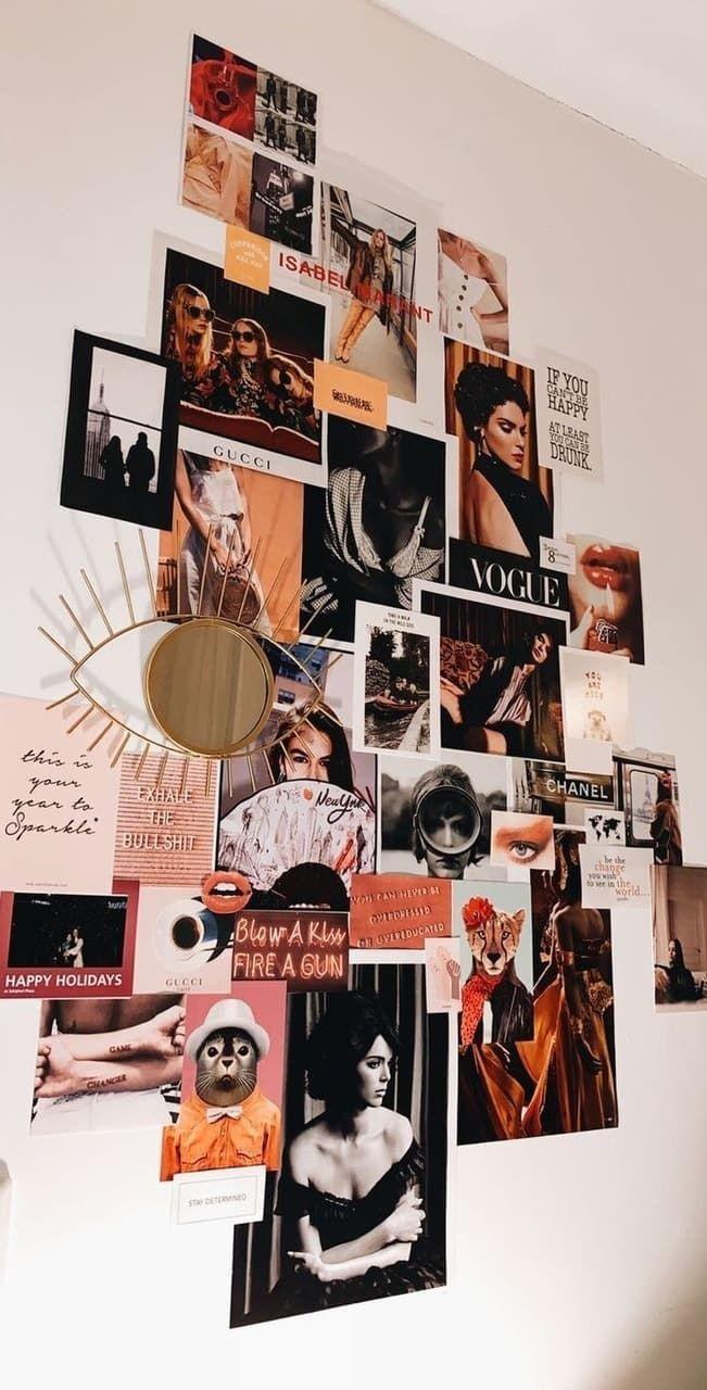 Idées de chambre Vintage en 18  Decoracion de paredes