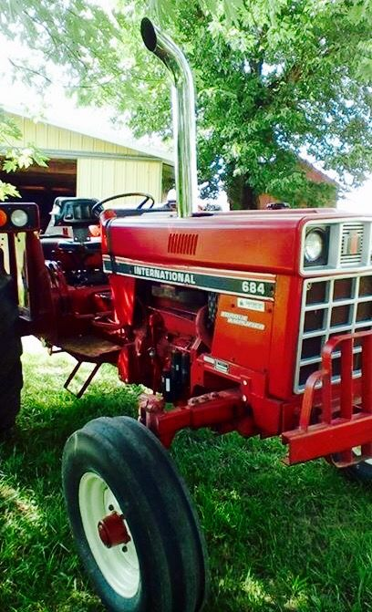 International Harvester 684 Tractor : Images about tractors on pinterest john deere