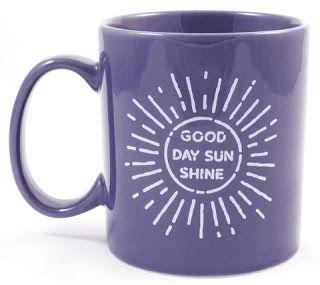 Treasures By Brenda: 31 DAYS OF COFFEE MUGS: Three Perfect Purple Coffee Mugs from Life is Good