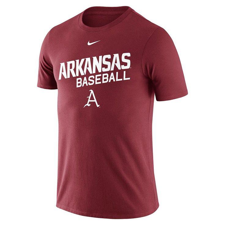 Men's Nike Arkansas Razorbacks Baseball Tee, Size: Medium, Other Clrs
