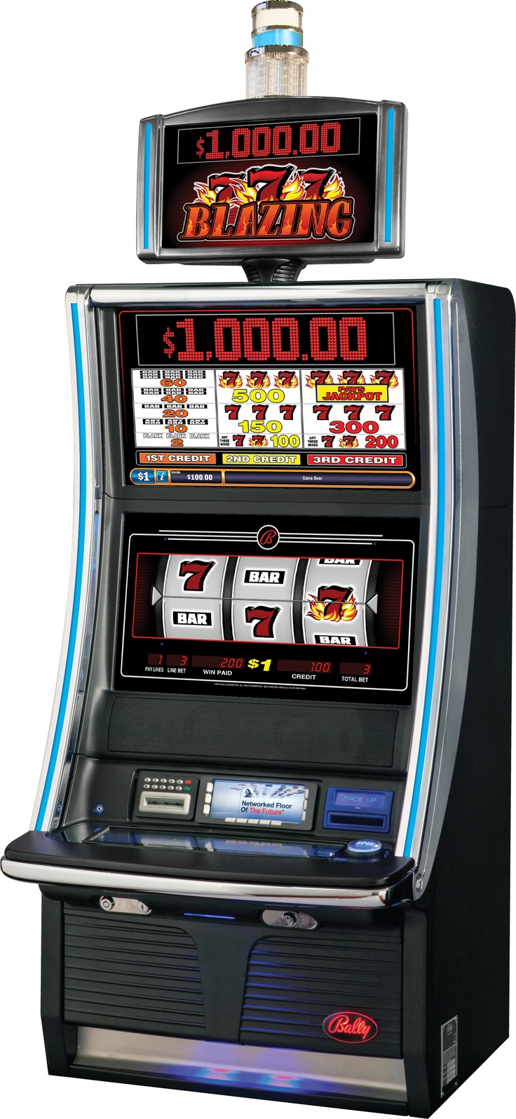 Networked casino slot machines gambling risks statistics