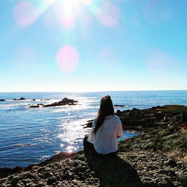 Un descanso en el camino, en este hermoso lugar de la costa del Pacífico #carmellocals #montereybaylocals - posted by Laura De La Vega https://www.instagram.com/laura.dlv - See more of Carmel By The Sea, CA at http://carmellocals.com