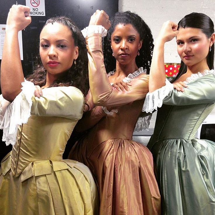 The Schuyler Sisters (Peggy, Angelica, and Eliza)    Hamilton