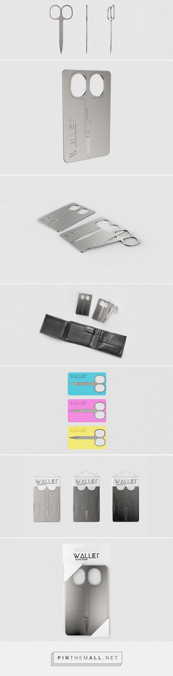 Wallet Nail Scissors packaging design by Annabella Hevesi - http://www.packagingoftheworld.com/2016/11/wallet-nail-scissors.html