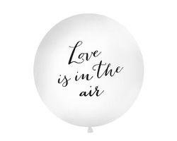 Riesen Luftballon Jumbo Balloon Love is in the Air 1m