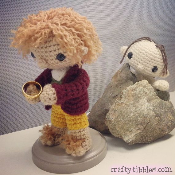 Amigurumi Magische Ring : 1000+ images about Hobbit crochet crafts on Pinterest ...
