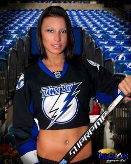 Tampa Bay Lightning | Hot Chicks In Hockey Jerseys