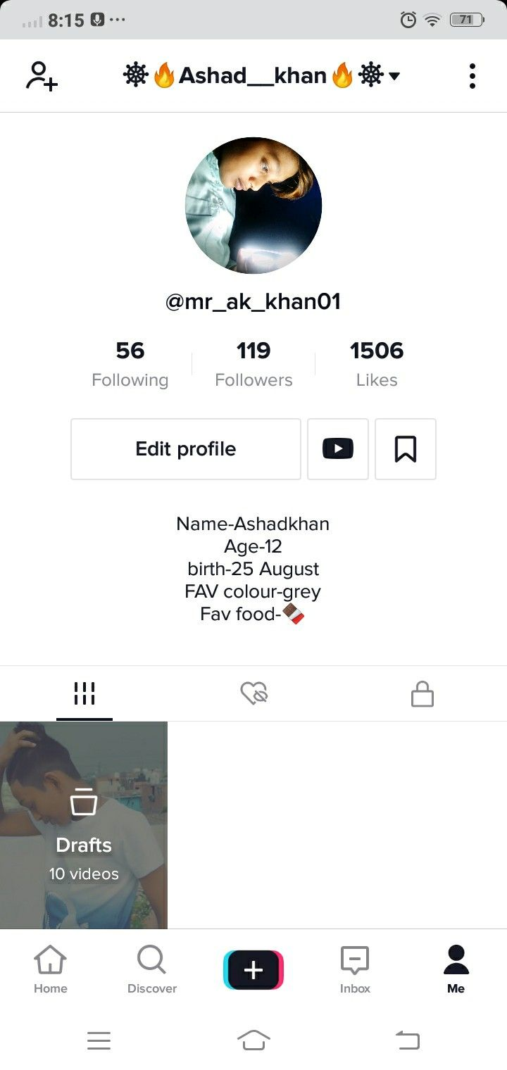 My I D Tik Tok Is Banned My Hard Video Working I Am So Said By By Tik Tok Hahaha I Used Pinterest Tik Tok Tok Video