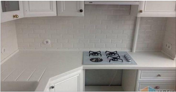 Egy kicsi konyhát is be lehet úgy rendezni, hogy mindennek meg legyen a helye!