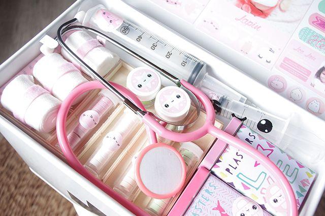 Malette de docteur Kawaii DIY Jouet kit  Noel Bibou  Pinterest  ~ Malette Docteur En Bois