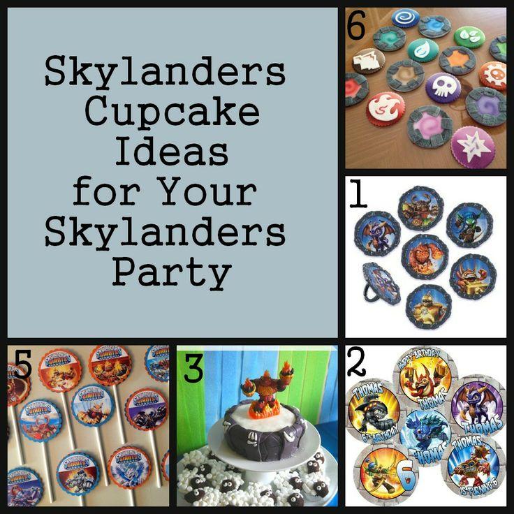 Skylanders Party – The Cupcakes
