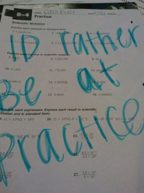 I tore my work up in history after she said I couldn't go to practice!!!
