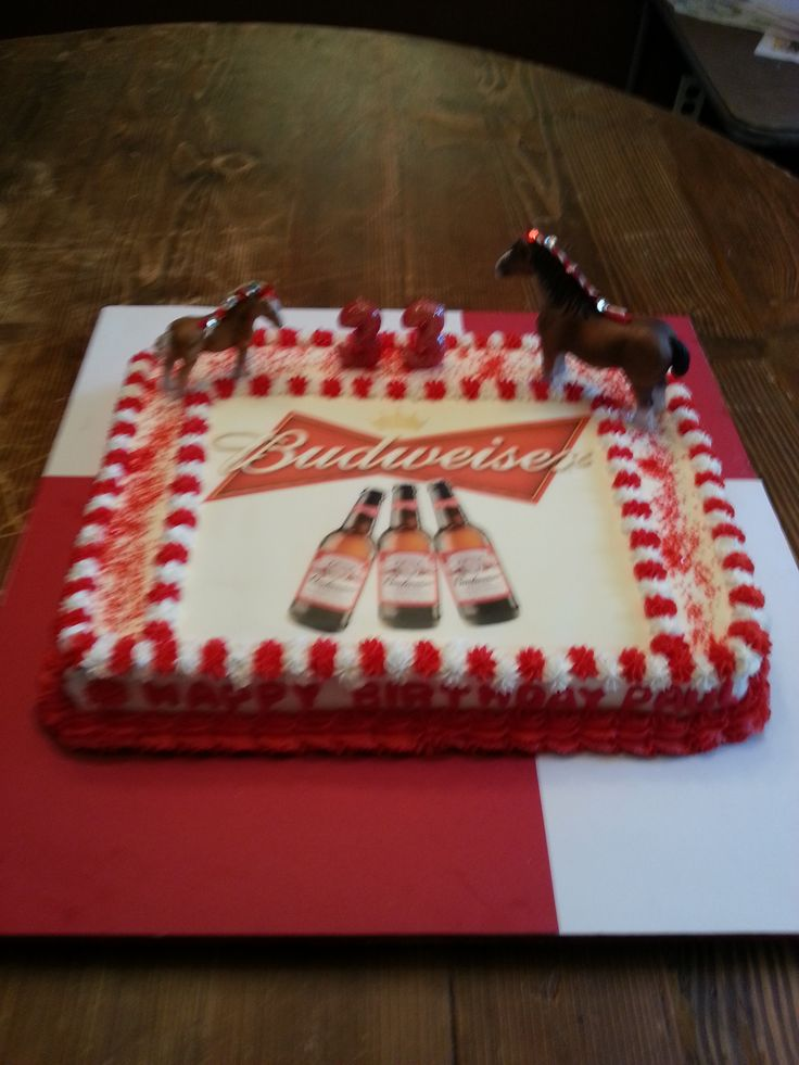 Budweiser Cake Not A Great Pick Party Ideas