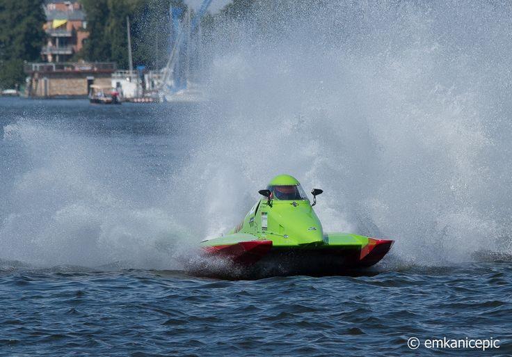 ADAC Motorbootrennen auf der Dahme in Berlin