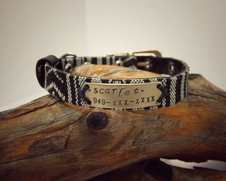 Personalized Cat Collar, Cat Collar Personalized, Cat Collar, Dog Collar Personalized, Small Dog Collar, Dog Collar With Name Plate, Boho by VakalisCreations on Etsy https://www.etsy.com/listing/269894261/personalized-cat-collar-cat-collar