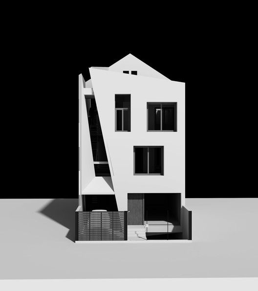 Folding Wall House,Rendering 5