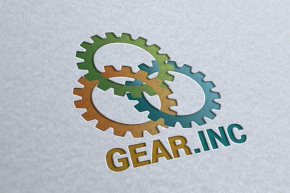 Gear.Inc Logo by MAGOO STUDIO on Creative Market