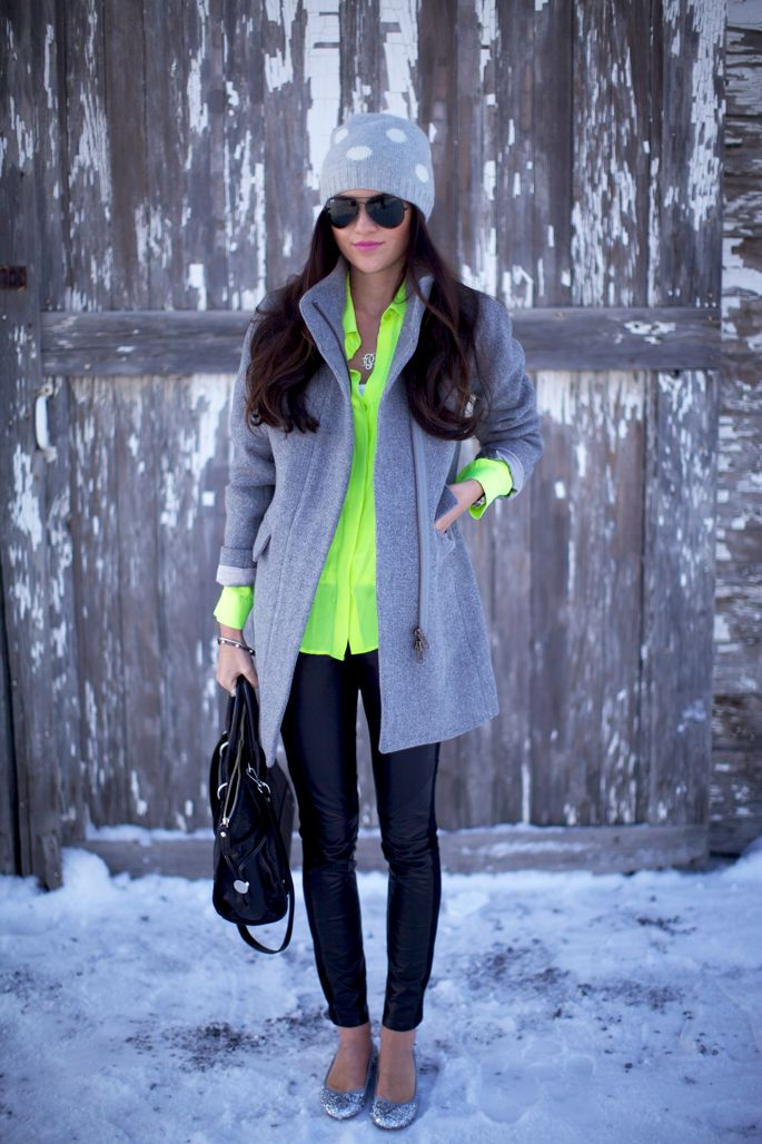 Top: Theory. | Coat: J.Crew | Bottoms: Paige Black Label | Flats: