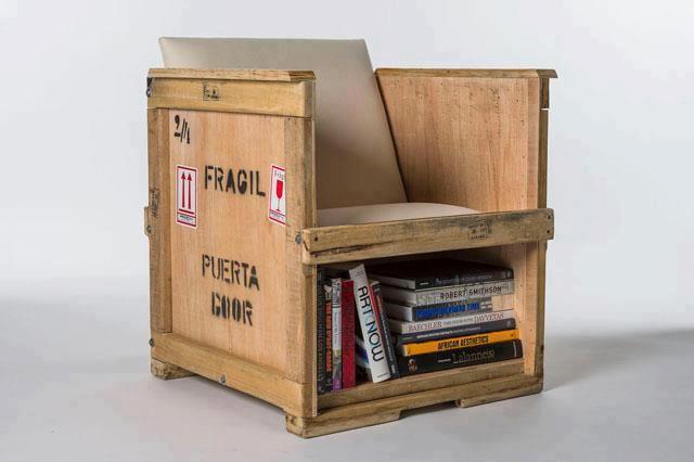 Estantes Para Baño Economicas:espaço para armazenamento Sendo reutilizada uma caixa própria para