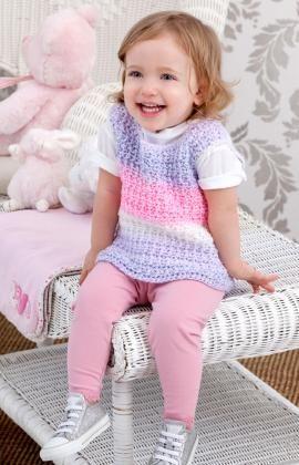 Sweetie Pie Baby Vest Crochet Pattern