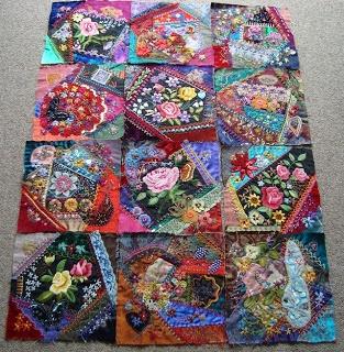 Top 25 Ideas About Crazy Quilt Stitches On Pinterest
