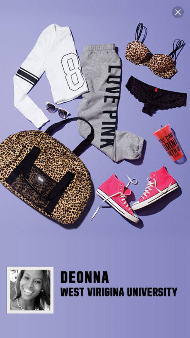 Vs pink outfit via- pink nation app